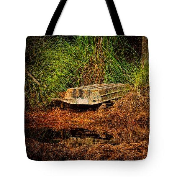 River Boat Tote Bag