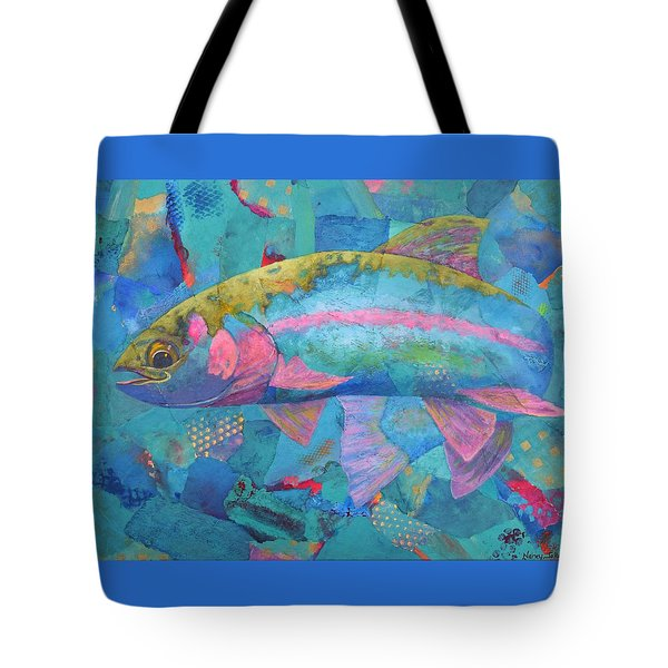 River Bow Tote Bag by Nancy Jolley