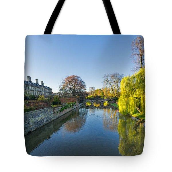 River Cam Tote Bag