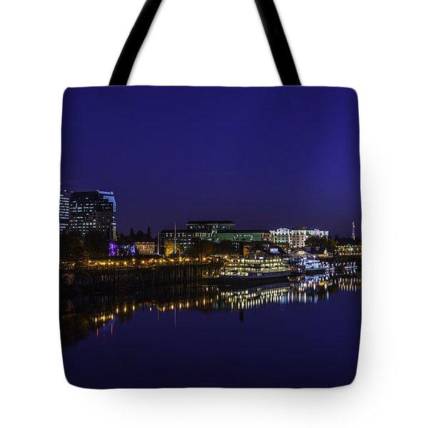 River City Blues Tote Bag