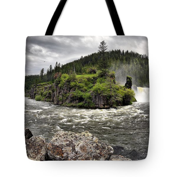 River Course Tote Bag by Leland D Howard