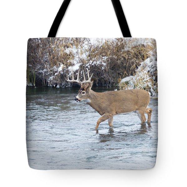 River Crossing Tote Bag