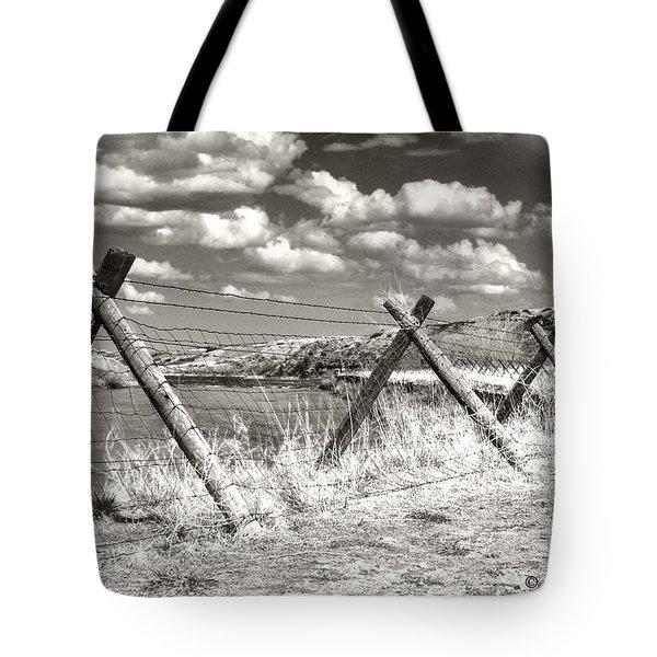 River Drama Tote Bag