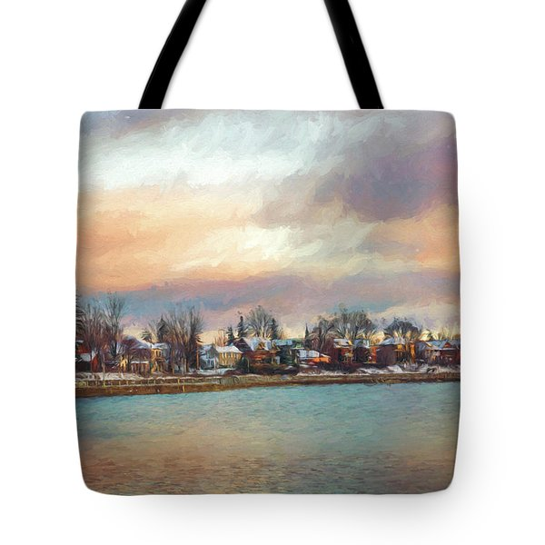 River Dream Tote Bag