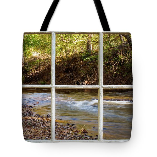 Tote Bag featuring the photograph River Falls by Randy Sylvia