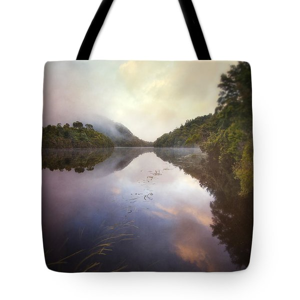 Tote Bag featuring the photograph River Fire  by Amy Weiss