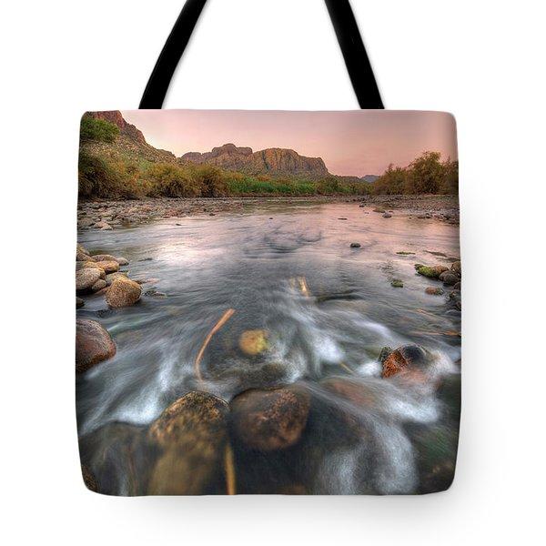 River Flow Tote Bag
