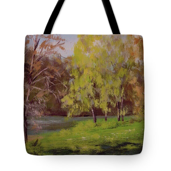 River Forks Spring 2 Tote Bag