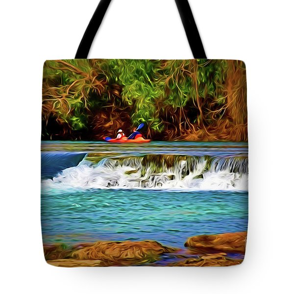 River Good Times 121217-1 Tote Bag