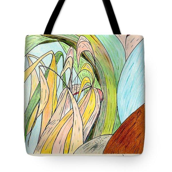 River Grass Tote Bag
