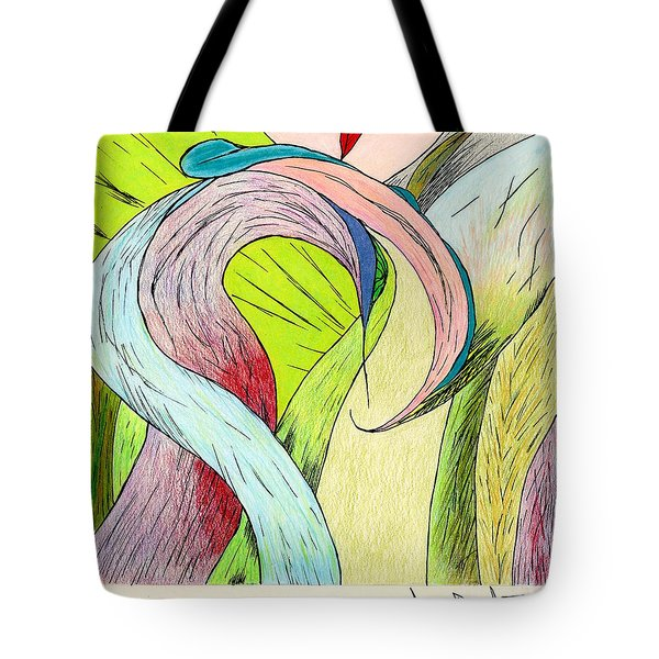 River Grass Up Close Tote Bag
