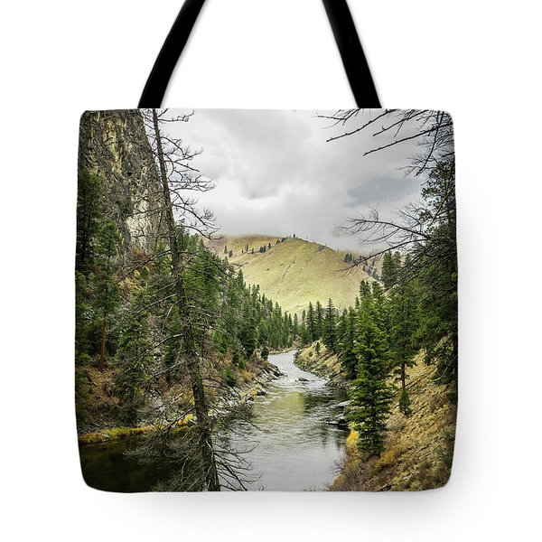 River In The Canyon Tote Bag