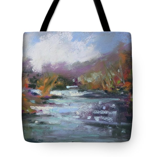 River Jewels Tote Bag by Rae Andrews