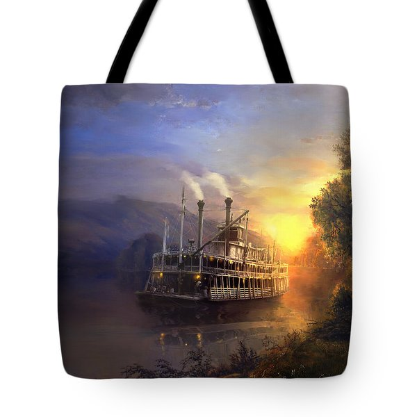 River King Tote Bag