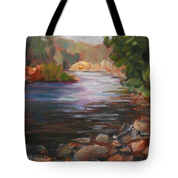 River Light Tote Bag