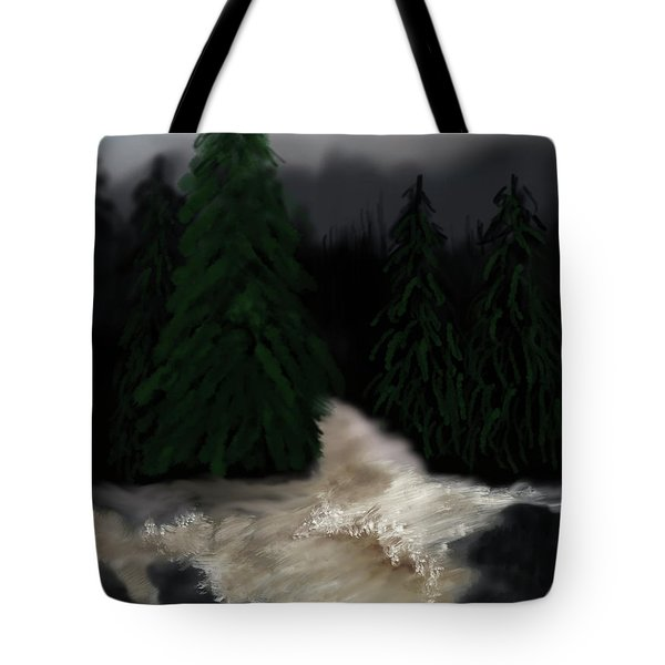 River North Carolina  Tote Bag
