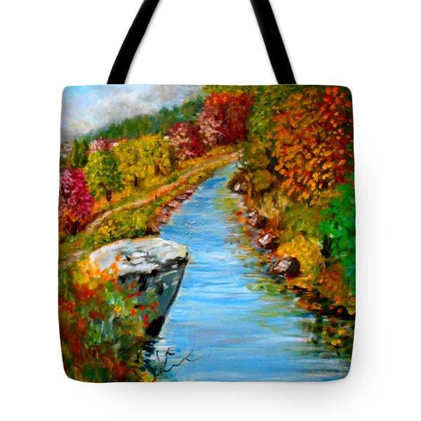 River Lousios  Tote Bag