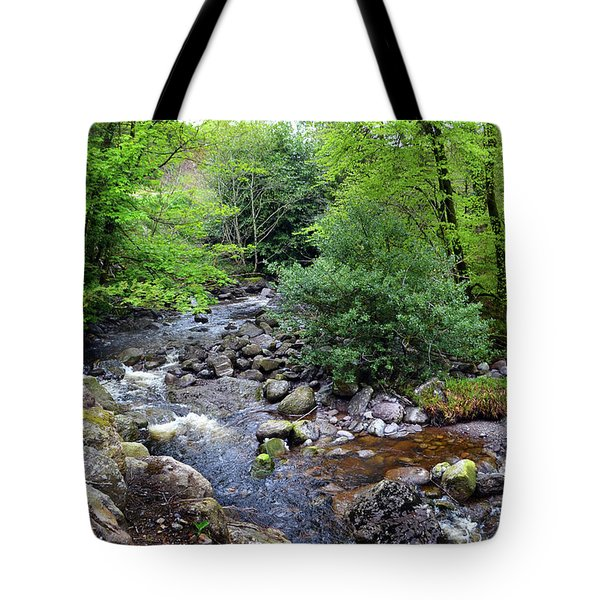 River Mahon Waterford Ireland..jpg Tote Bag by Terence Davis