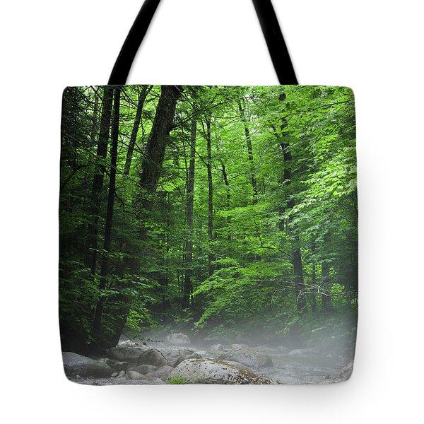 River Mist Tote Bag