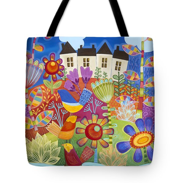 Tote Bag featuring the painting River Of Dreams by Carla Bank