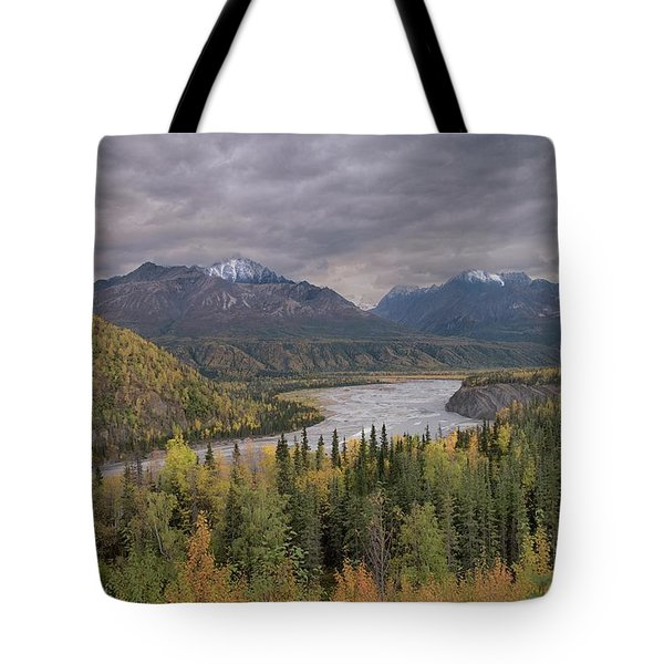 River Of Gold Tote Bag