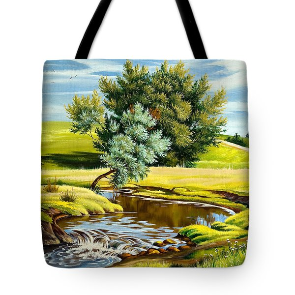 River Of Life Tote Bag by Karen Showell