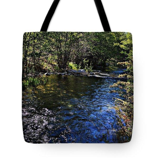 River Of Peace Tote Bag