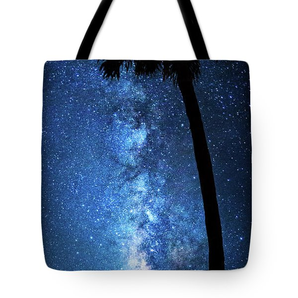 Tote Bag featuring the photograph River Of Stars by Mark Andrew Thomas