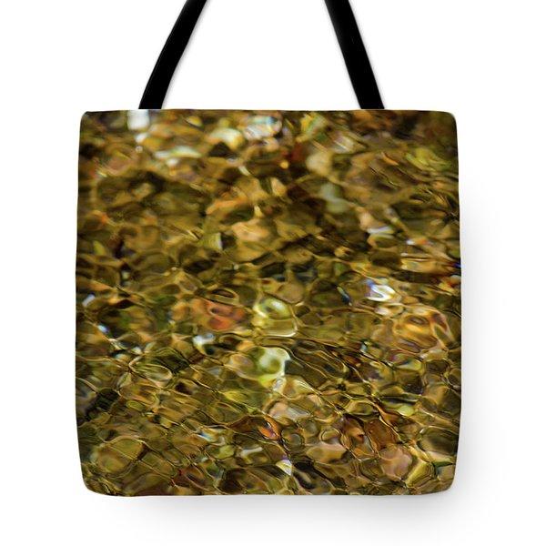 River Pebbles Tote Bag