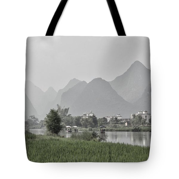 River Rafting Tote Bag