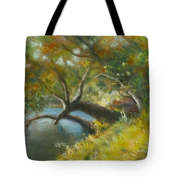 River Reverie Tote Bag