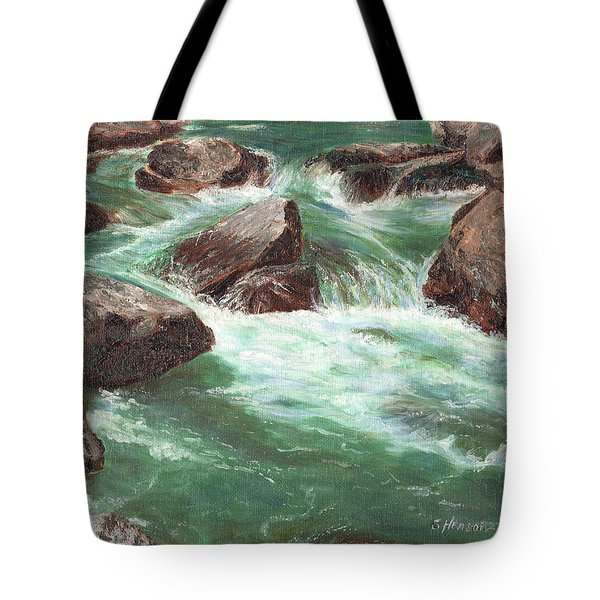 River Rocks Tote Bag