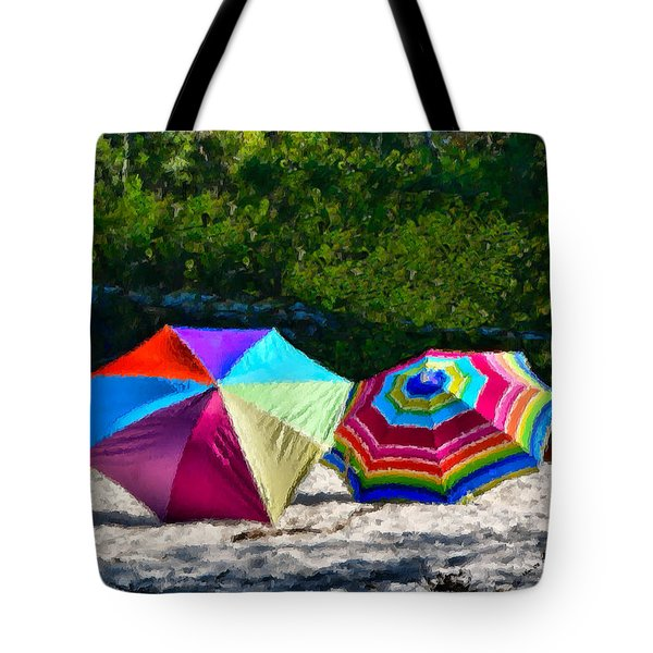 River Shade Tote Bag
