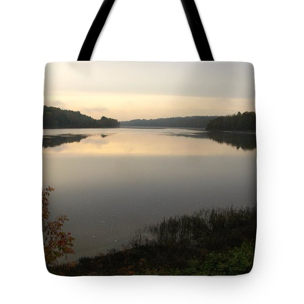 River Solitude Tote Bag