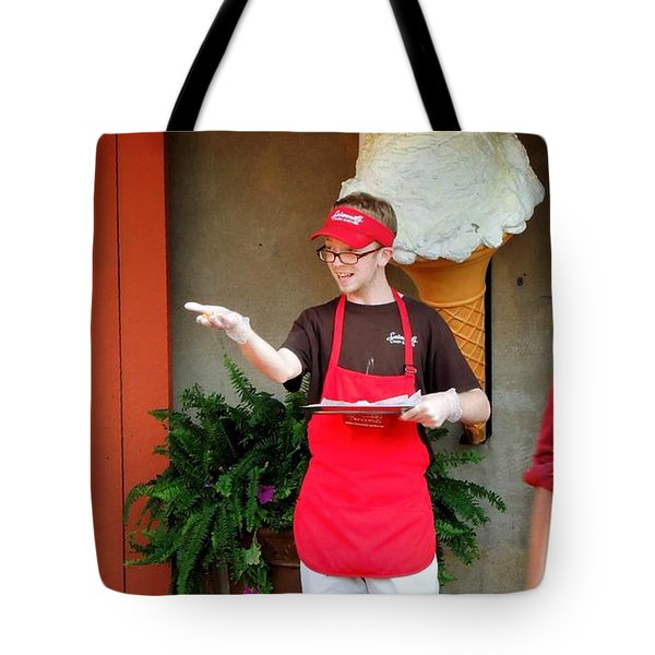 River Street Candy Man Tote Bag