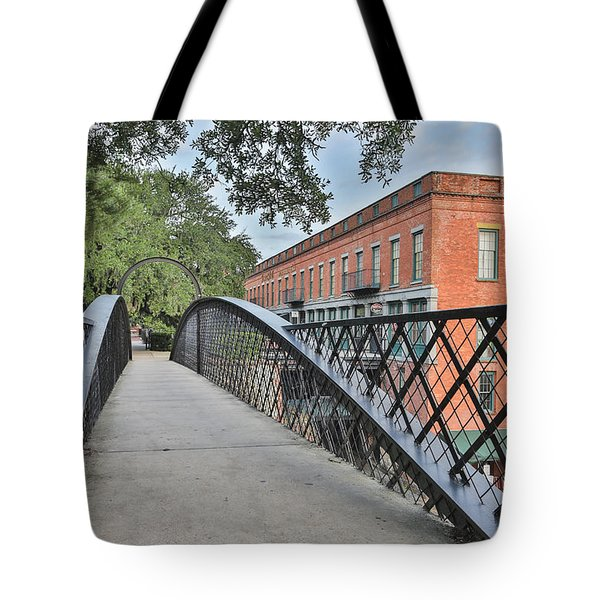 River Street Connection Tote Bag