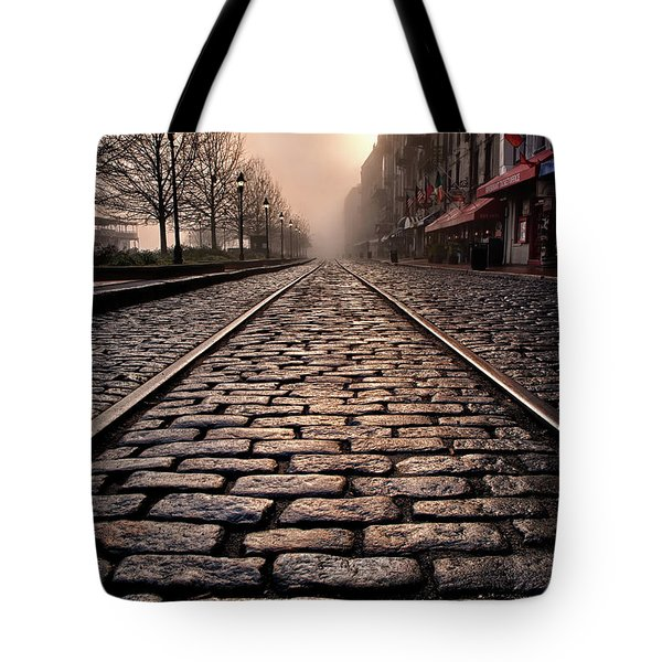 River Street Railway Tote Bag
