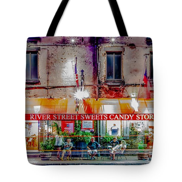 River Street Sweets Candy Store Savannah Georgia   Tote Bag