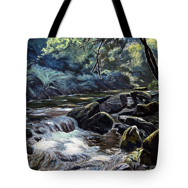 River Taw Sticklepath Tote Bag