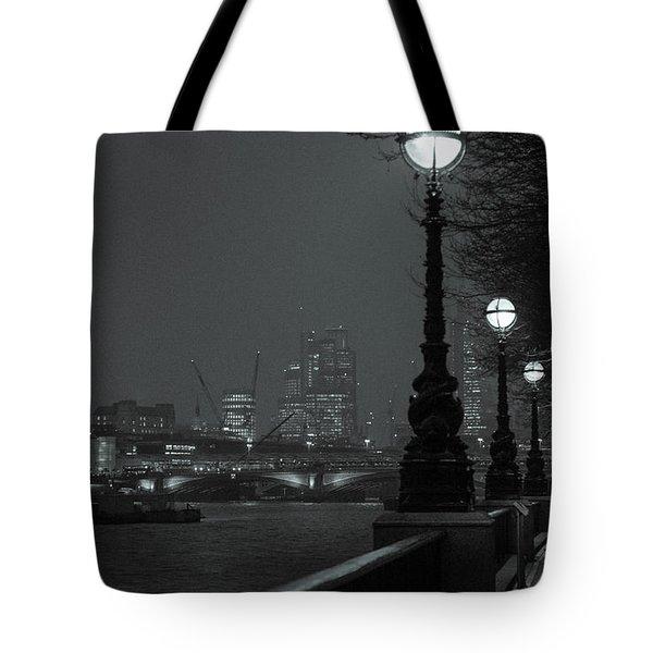 River Thames Embankment, London 2 Tote Bag