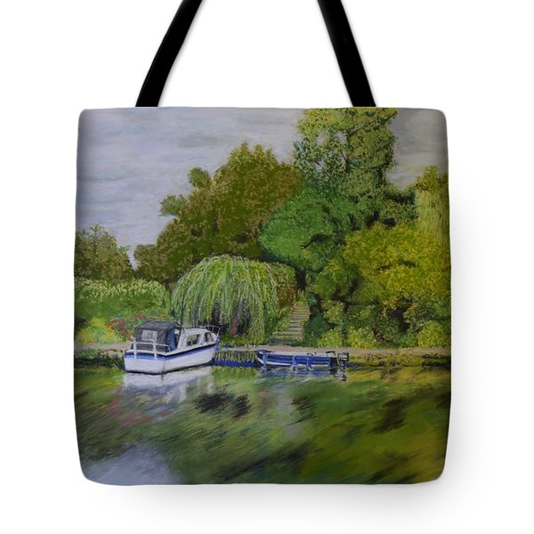 River Thames Hampton Tote Bag