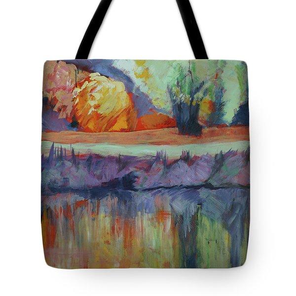 River Tweed Tote Bag