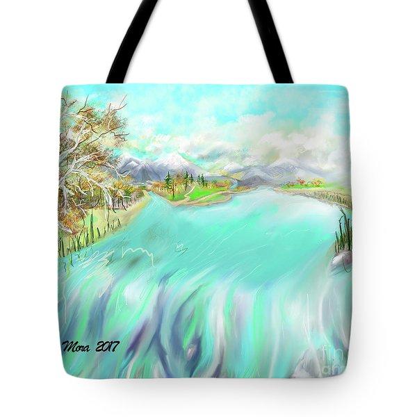 River View Tote Bag