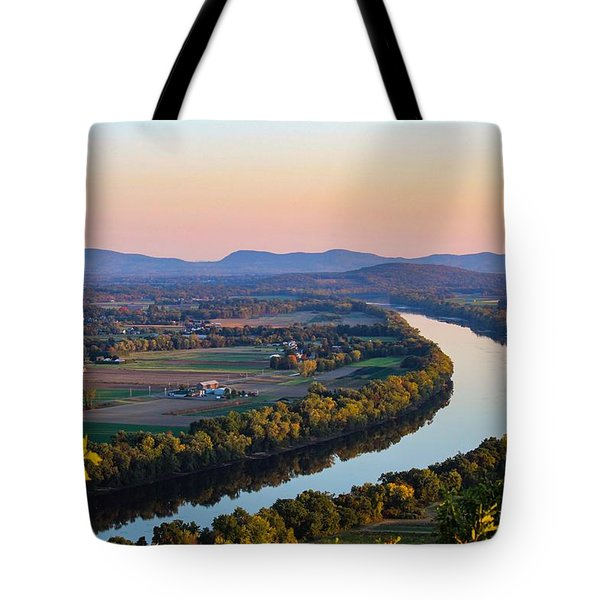 Tote Bag featuring the photograph Connecticut River View  by Sven Kielhorn