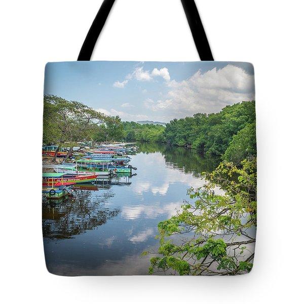 River Views In Negril, Jamaica Tote Bag