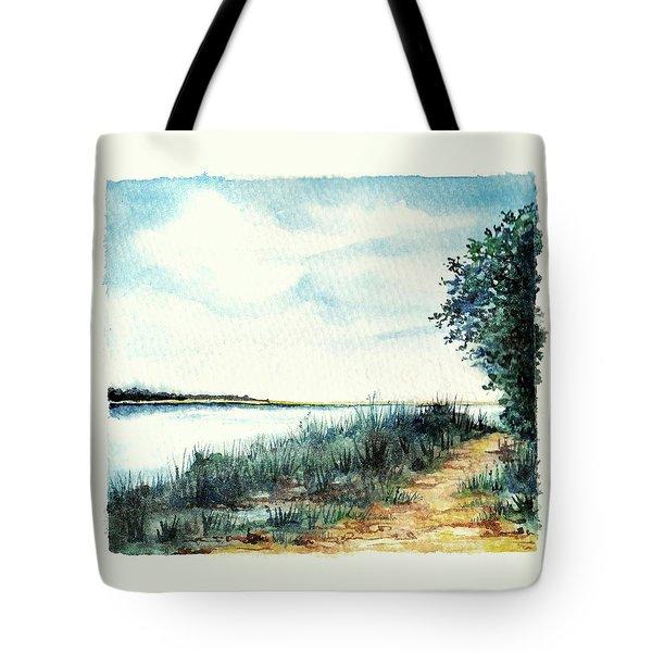 River Walk Tote Bag by Heidi Kriel