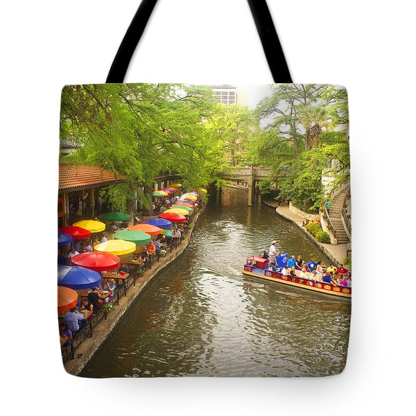 River Walk In San Antonio, Texas Tote Bag