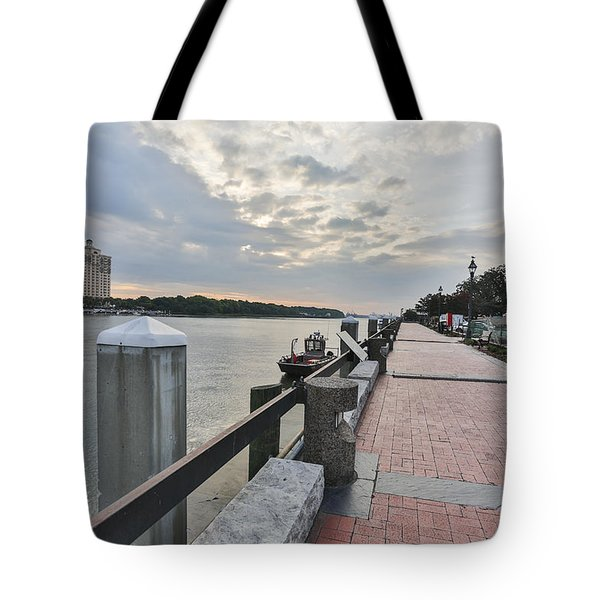 River Walk Path Tote Bag