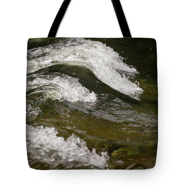 River Waves Tote Bag