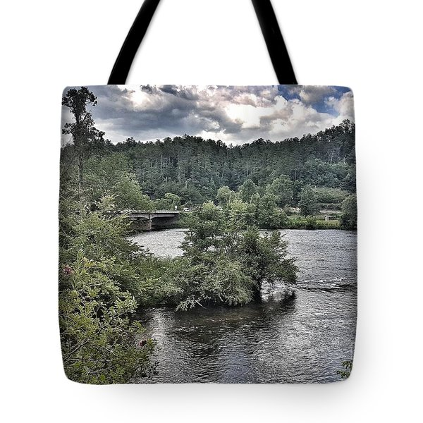 River Wonders Tote Bag